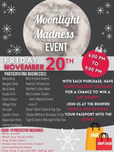 Moonlight Madness Event Poster
