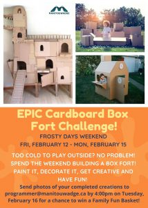 Carboard Box Challenge Poster