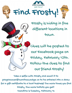 Find Frosty Poster